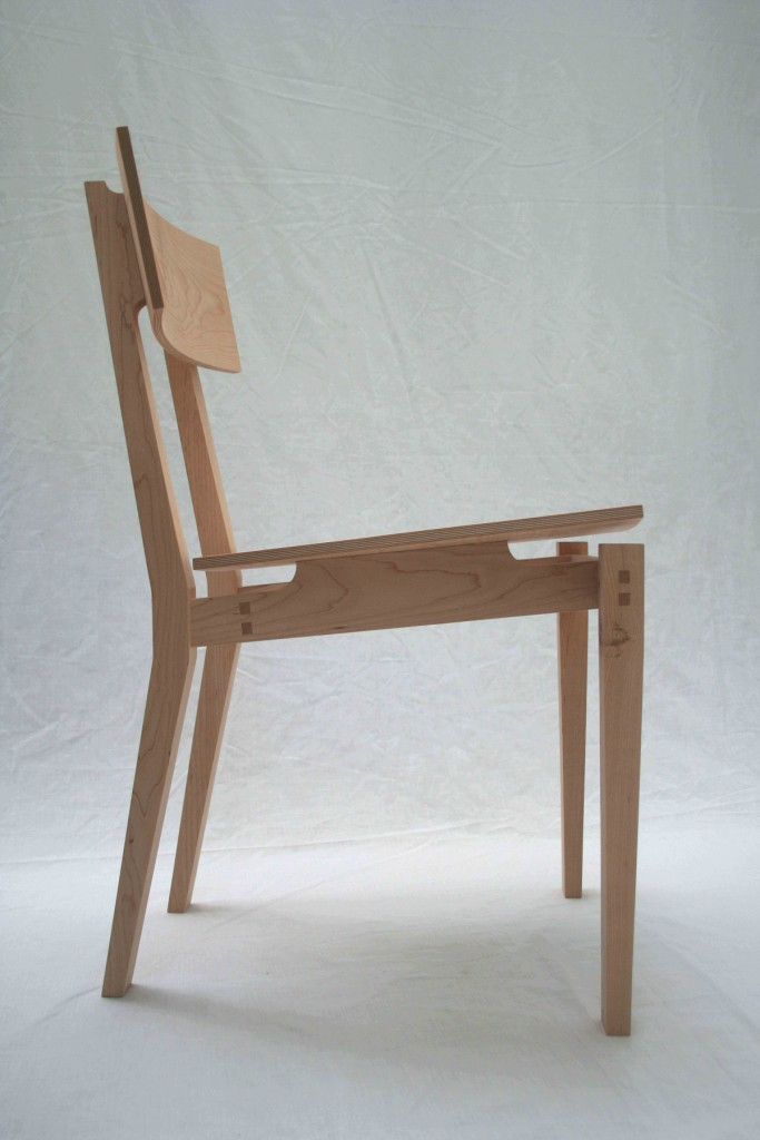 Dining chair - Side view