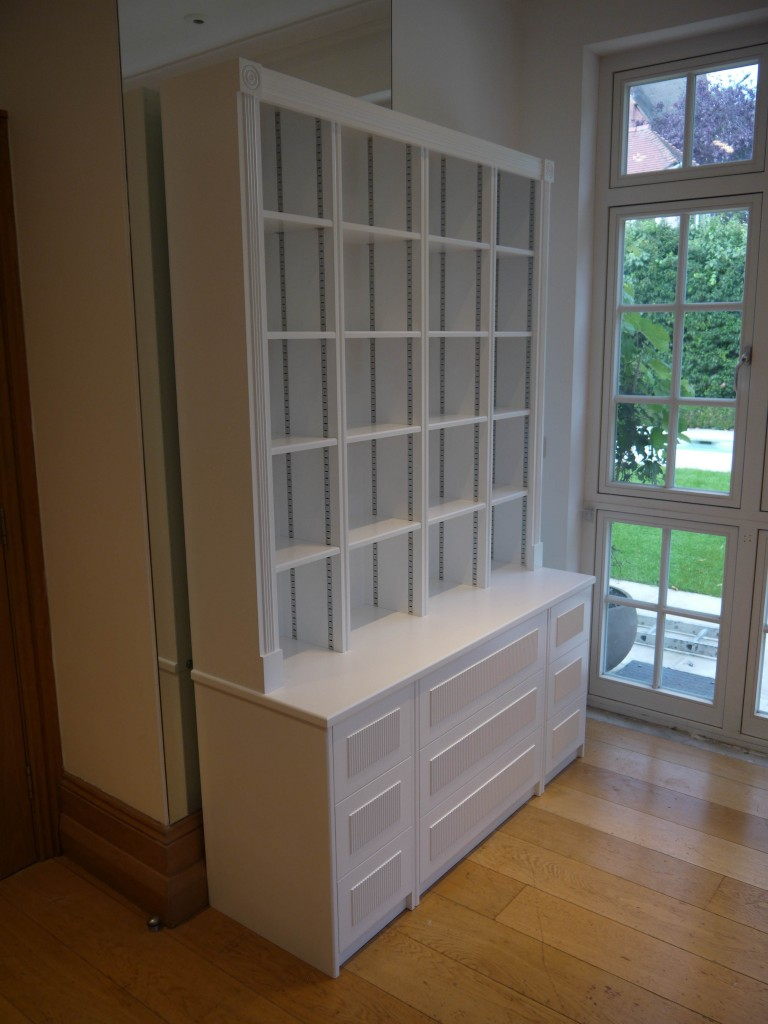 Freestanding Shelving - Perspective view