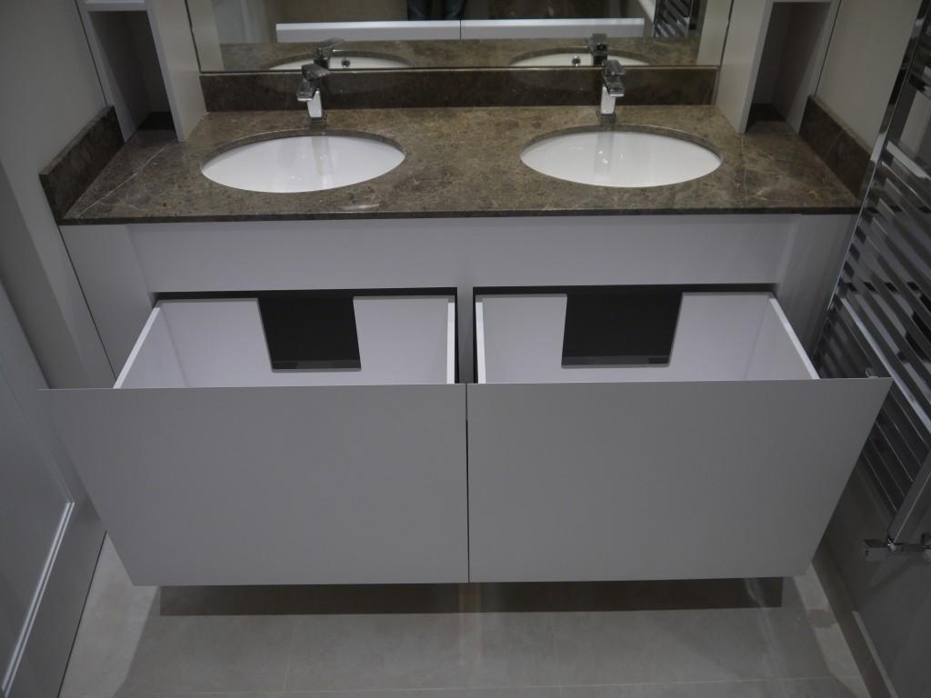 Double Vanity Cabinet