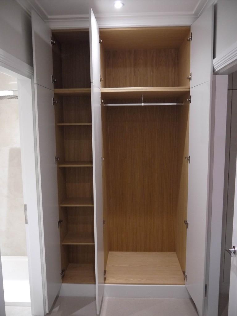 Corridor Wardrobe - open view