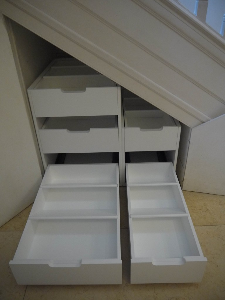 Shoe storage - open view