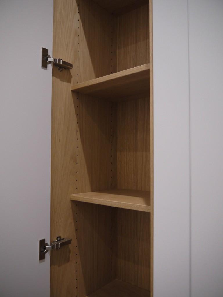 Corridor Wardrobe - shelf view