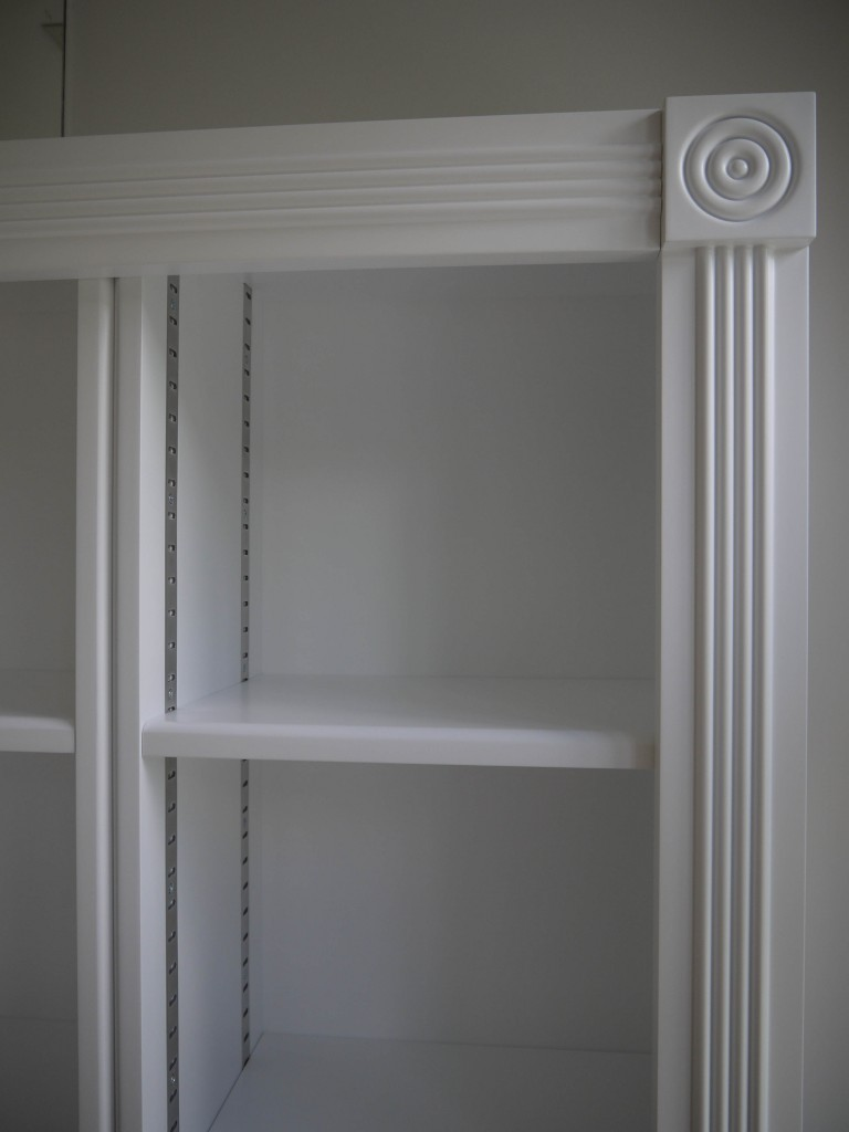 Freestanding Shelving - detail view